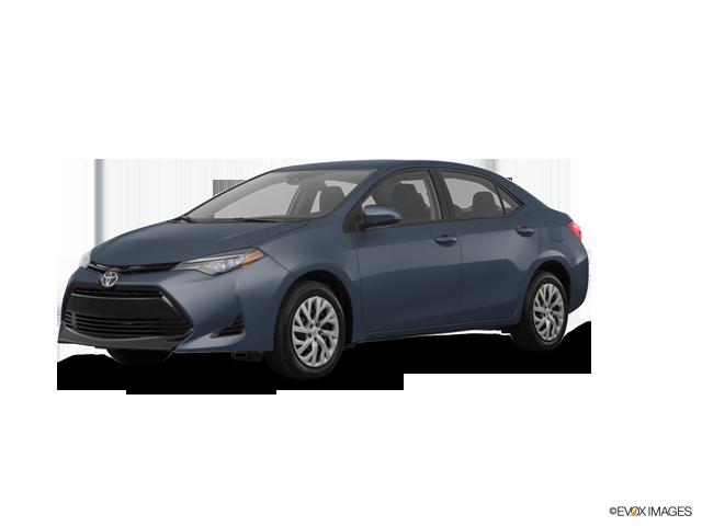 2017 Toyota Corolla 4D Sedan